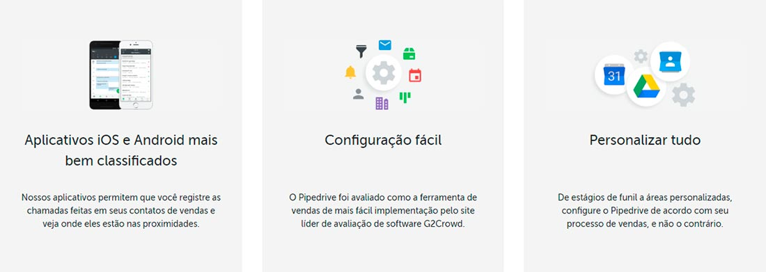 Mais Recursos do Pipedrive